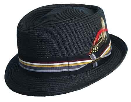 Scala Diamond Crown Fedora