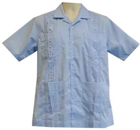 Supreme Embroidered Guayabera Shirt