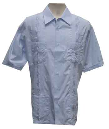 Foxfire Embroidered Guayabera Shirt
