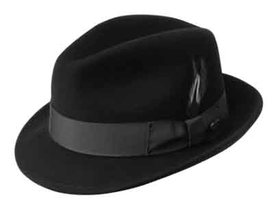 Blues Brother Fedora Hat