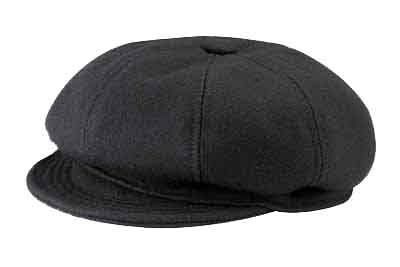New York Wool Spitfire/Newsboy Cap