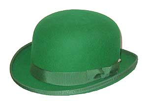 Wool Felt St Patrick Day Derby