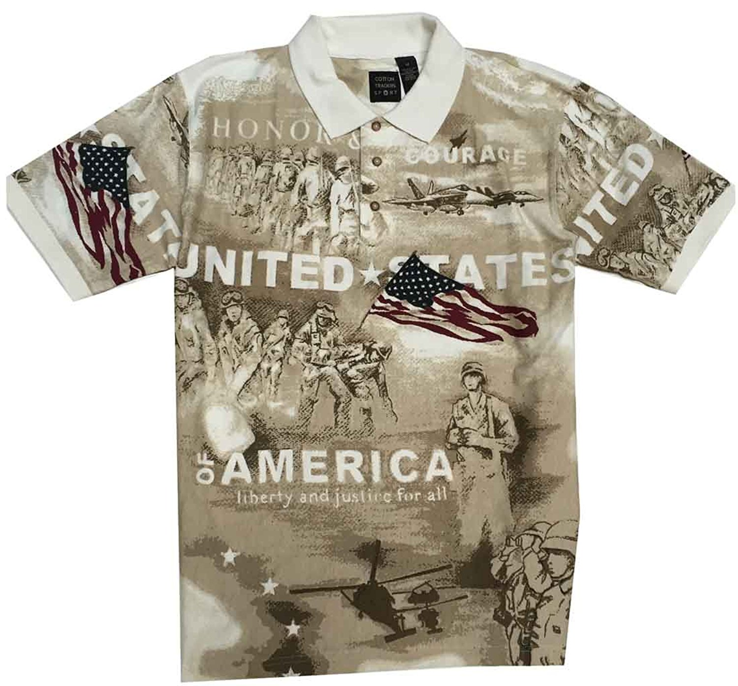 Cotton Traders Norman Flag Shirt