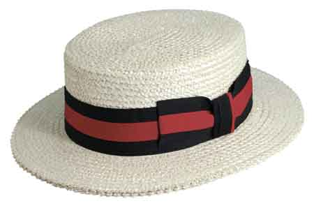 Boater Sailor Hat Style  MS369 Made in China Material  10 11 mm Laichow  Braid Sizes  M - XXL Color  Bleach Brim  2