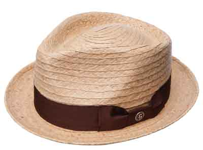 Steston42nd Street Straw Fedora