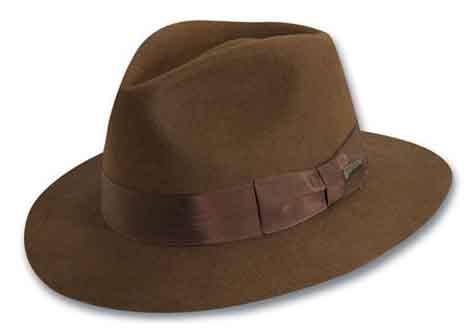 3f0e512f66ac39 Indiana Jones Pinch Front Fedora Style#: Indiana Jones #IJ551 Material:  100% Wool Felt Brim: 2-1/2