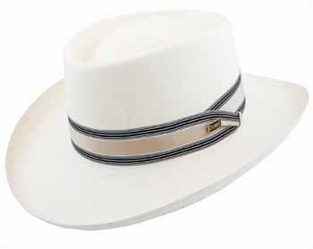 Dobbs Kingston Gambler Shantung Hat