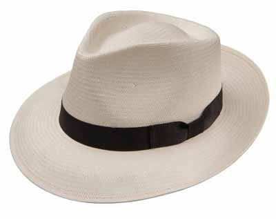 Steston Reward Shantung Straw Fedora