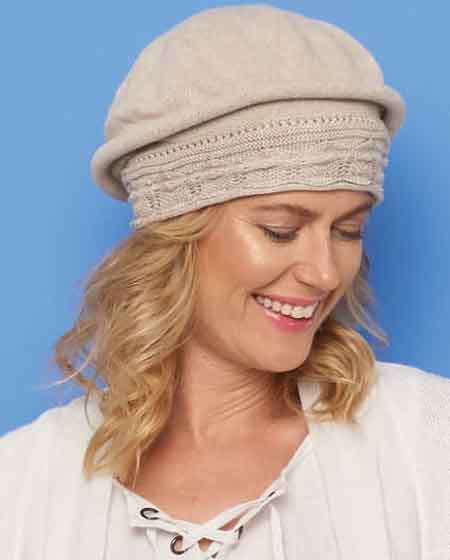 Parkhurst Cotton Pointelle Beret