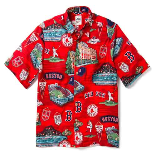 0bf8c87b Major League Baseball (MLB) 2019 100% Cotton Hawaiian Shirts by Reyn ...